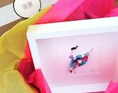 """Quilled Paper Art: """"Dancing Queen"""""""