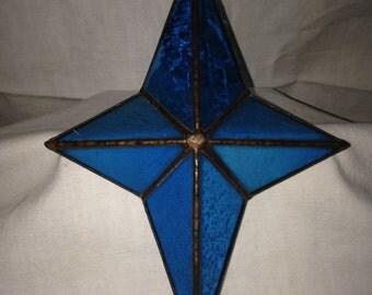 HANDMADE STAINEDGLASS STAR
