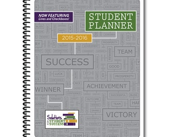 Student Planner WITH LINES (Great for Middle School)