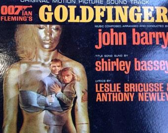 James Bond - Goldfinger soundtrack - vinyl record