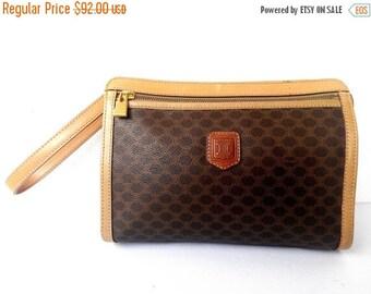 Auth MCM Cognac Brown Shoulder Leather Bag by CaptClothingVintage