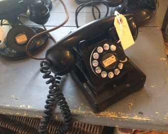 Antique Western Electric Company Original Telephone, 1940's