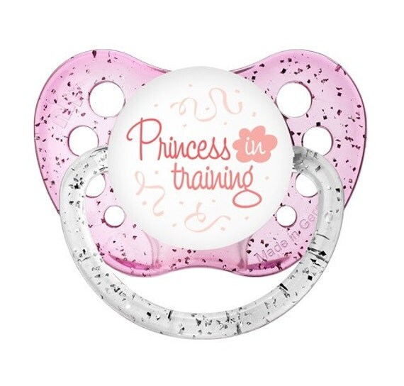 Princess In Training Binkie Princess Baby Dummy Princess