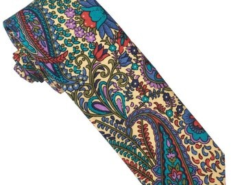 Marigold Skinny Tie