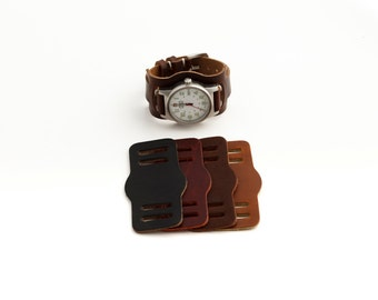 Flieger Bund Pad for your Horween Leather Strap