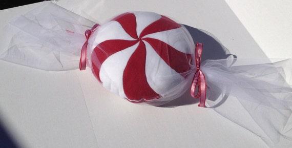 Peppermint Candy Pillow