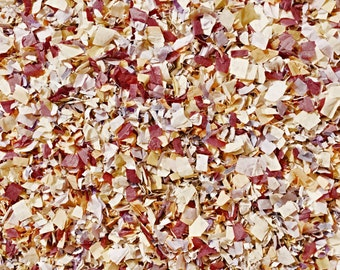 Burgundy Burnt Orange Mauve Ivory Biodegradable Confetti Autumn Wedding Party Decorations (25 Guests)