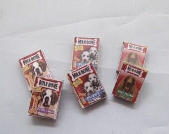 Dog Biscuit & Treats  ~ Shop 6pk ~ 12th Dolls House Miniature