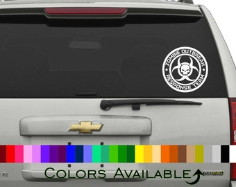Zombie Response Team Car Decal
