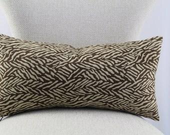 Robetr Allen Designer pillow cover,lumbar pillow,decorative pillow,accent pillow,same fabric on front and back.