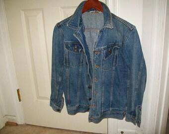 Vintage Boho teen/women denim jean jacket