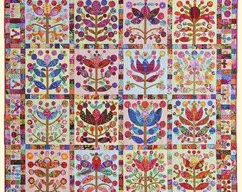 LOLLYPOP TREES Pattern by Kim McLean - Appliqué