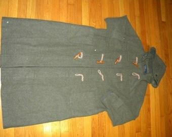 1990's Men's Duffle Coat, Polo by Ralph Lauren, 94 / 170, Dark Green, Used, Great Condition