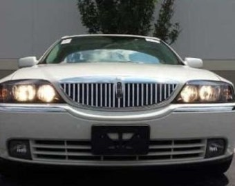Chrome Grille Grill Trim For LINCOLN LS 00 01 02 03 04 05 06