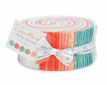 NEW! Moda Sweetness Jelly Roll by Sandy Gervais