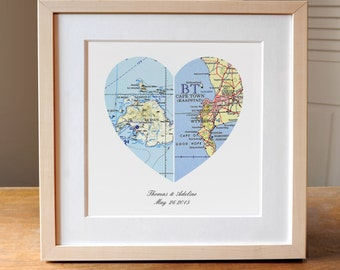 17 wedding anniversary uk map