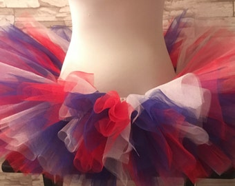 Red White and Blue Tutu, 4th Of July Tutu