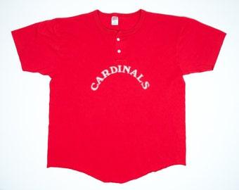 Cardinals Baseball Jersey XL - Cardinals Baseball Jersey Tshirt Extra Large - Vintage Cardinals Baseball Team Shirt XL - #13 Baseball Jersey