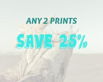 Set of 2 Prints- Choose Any 2 Photography Prints and Save 25%, Home Decor, Wall Art, Wall Decor, Wall Art Set, Nature Print Set