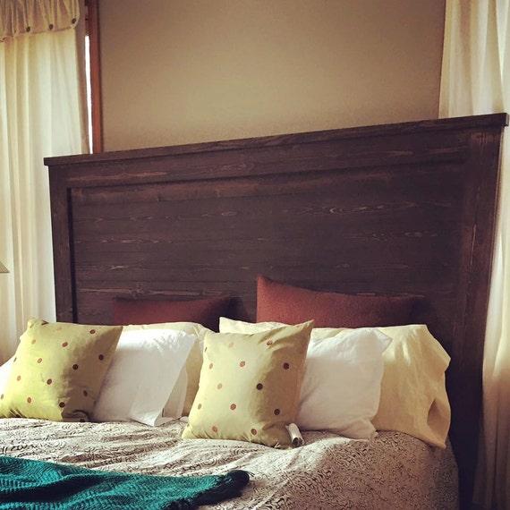 extra tall espresso modern solid wood headboard varied. Black Bedroom Furniture Sets. Home Design Ideas
