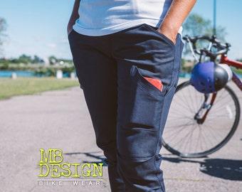 """FUNKSTRUC 2016 """"SALE"""", women's skinny cycling jeans / FUNKSTRUC 2016, pantalon femme ajusté en denim pour le vélo"""