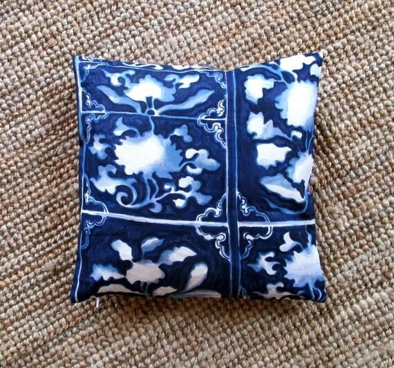 Decorative pillow cover Ralph Lauren print 100% linen