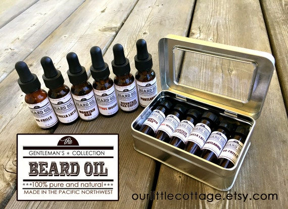 beard oil kit beard serum kit beard oil sample by. Black Bedroom Furniture Sets. Home Design Ideas