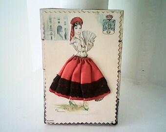 WOOD MATCHES Spanish Silk Art BOX
