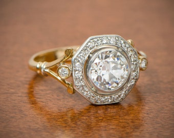 Edwardian Engagement Ring. Circa 1900