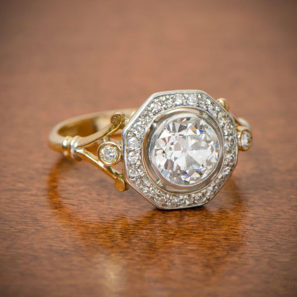 Edwardian Engagement Ring Circa 1900