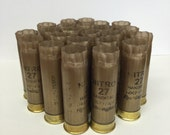 "Empty Shotgun Shells 25 Lot Gold Remington Nitro with Gold Base 2.75"" 12 Gauge"