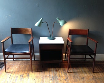 Mid Century Modern Accent Chair Danish Modern Chairs A Pair Mid Century Modern Side Chairs