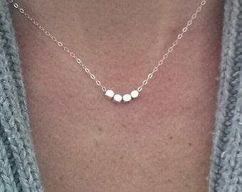 Inspirational Necklace, Motivational Necklace, Silver Energy Necklace, Sterling Silver Inspirational Necklace, Graduation Gift, Numerology