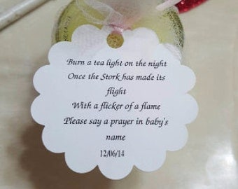 Baby Shower Wedding Cake Knife Poem