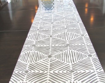 TABLE RUNNER 12 x 48 Grey Table Runners Wedding Showers Decorative Gray Holiday Housewares Home and Living Home Decor 48 60 72 84 96