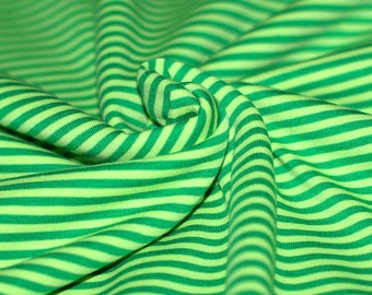Jersey stripes green/lime