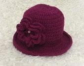 Crochet little girl's hat