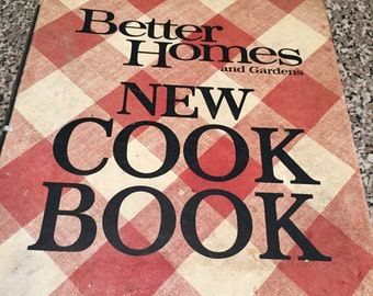 Vintage 1968 Better Homes and Gardens New Cook Book