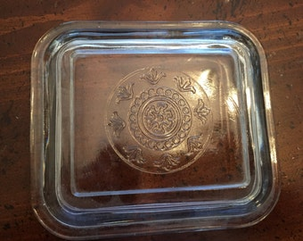 Clear Glass Refrigerator Dish Replacement Lid