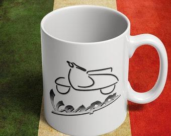 Vespa mug