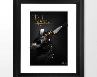 Pogba etsy for Decoration murale juventus