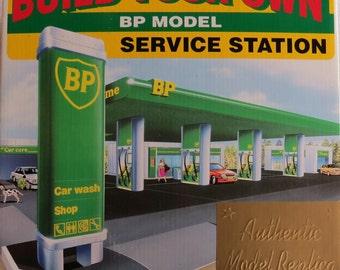 BP Service Station Model