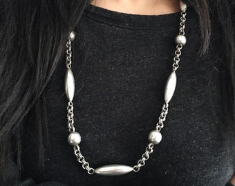 Vintage Sterling Silver 925 Taxco Necklace