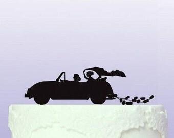 VW Beetle Wedding Cake Topper