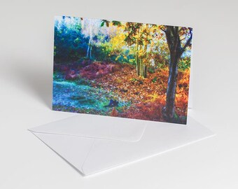Magical woodland - Greetings card