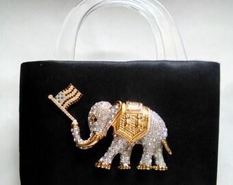 G O P Republican Elephant Purse