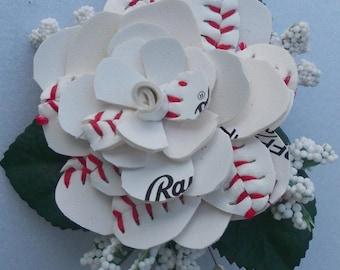 Sweetheart Baseball Boutonniere