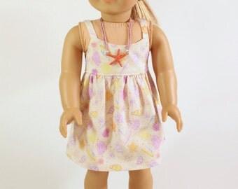 CLEARANCE American Girl doll clothes: Summer Fun-- Beach dress