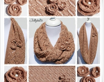 Knitting Pattern Loop Silky