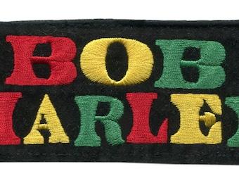 Bob Marley Vintage Style Rasta Patch 13cm